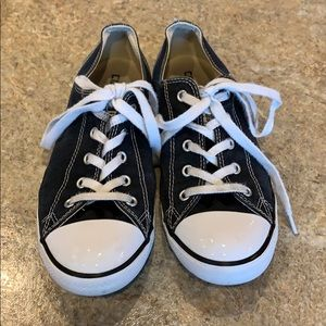 Converse All Star faded black shoes 9